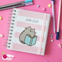 Agenda journalier 2019 - 2020 - Pusheen carré