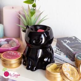 Brûle-parfum Chat noir