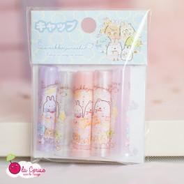 Set de bouchons pour crayons - Sumikko Gurashi Spring - Heure du thé