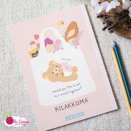 Cahier B5 Rilakkuma au marché - Retour du marché
