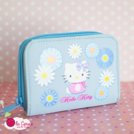 Portefeuille Hello Kitty Fleuri