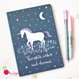 Cahier A5 - Starlight Unicorn