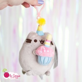 Peluche Clip Pusheen Birthday