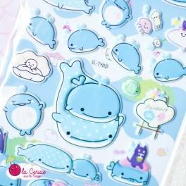 Stickers puffy Jinbesan (2)