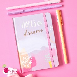 "Carnet A6 ""Hopes and Dreams"""