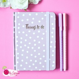 "Carnet A6 ""Things to do"""