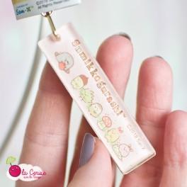 Porte-clés Sumikko Gurashi (cueillette)